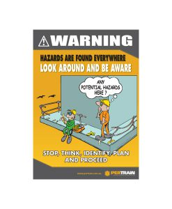Free Hazard Awareness Poster