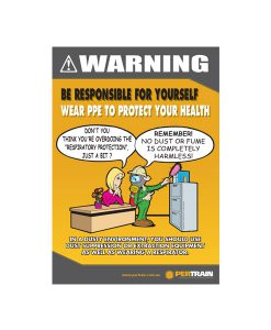 Free Dust Protection Safety Poster