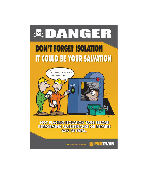 Free Isolation Safety Poster
