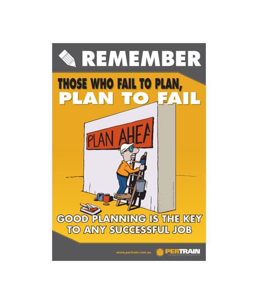Free Planning Poster