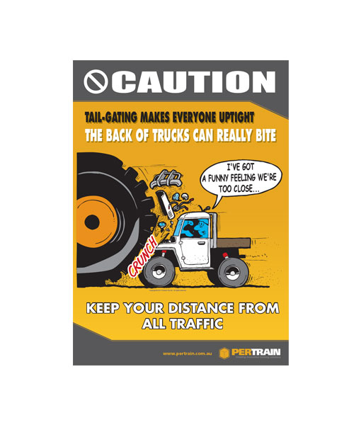 Free Tail-gating Safety Poster