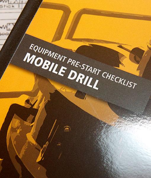 Drill Pre Start Checklist Books