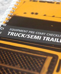 Truck Pre Start Checklist Books