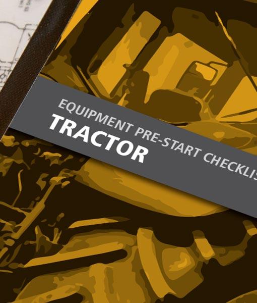 Tractor Pre Start Checklist Books