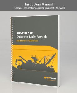 Operate Light Vehicle (RIIVEH201D)