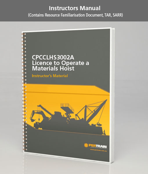 Licence to Operate a Materials Hoist (CPCCLHS3002A)