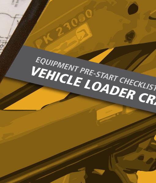 Vehicle Loading Crane Pre Start Checklist Books