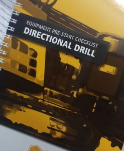 Horizontal Directional Drill Pre Start Checklist