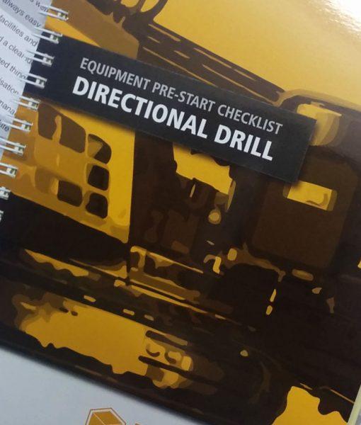 Horizontal Directional Drill Pre Start Checklist