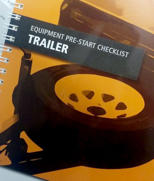 Trailer Pre Start Checklist Books