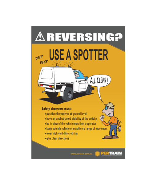 Free Safety Observer Poster