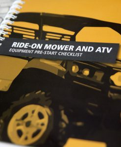 Ride on / ATV pre-start book cover