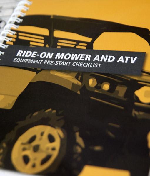 Ride on / ATV pre-start book cover