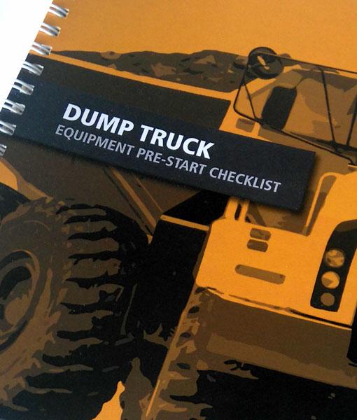 Dump Truck Pre-start book cover