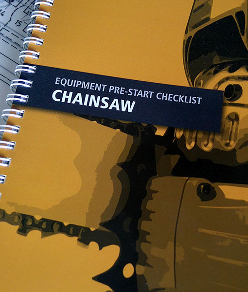 Chainsaw Pre-start book cover