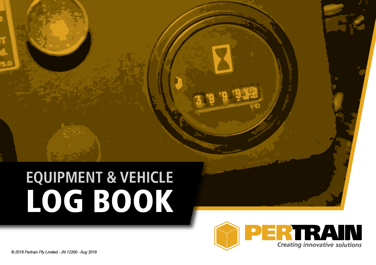 Equipment and Vehicle Log Book Front Cover