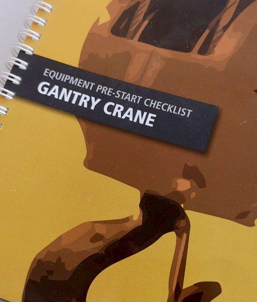 Gantry Crane Pre-Start Checklist Books