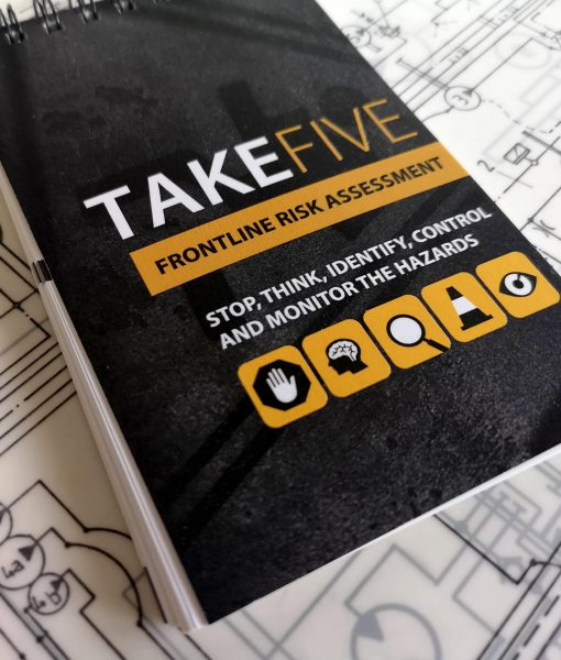TAKE 5 front line risk assessment book front cover