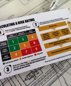 TAKE 5 front line risk assessment book risk matrix