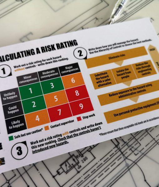 TAKE 5 front line risk assessment book risk matrix