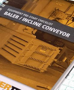 Baler Incline Conveyor