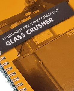 Glass crusher Cover